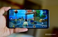Samsung Galaxy A50 playing PUBG