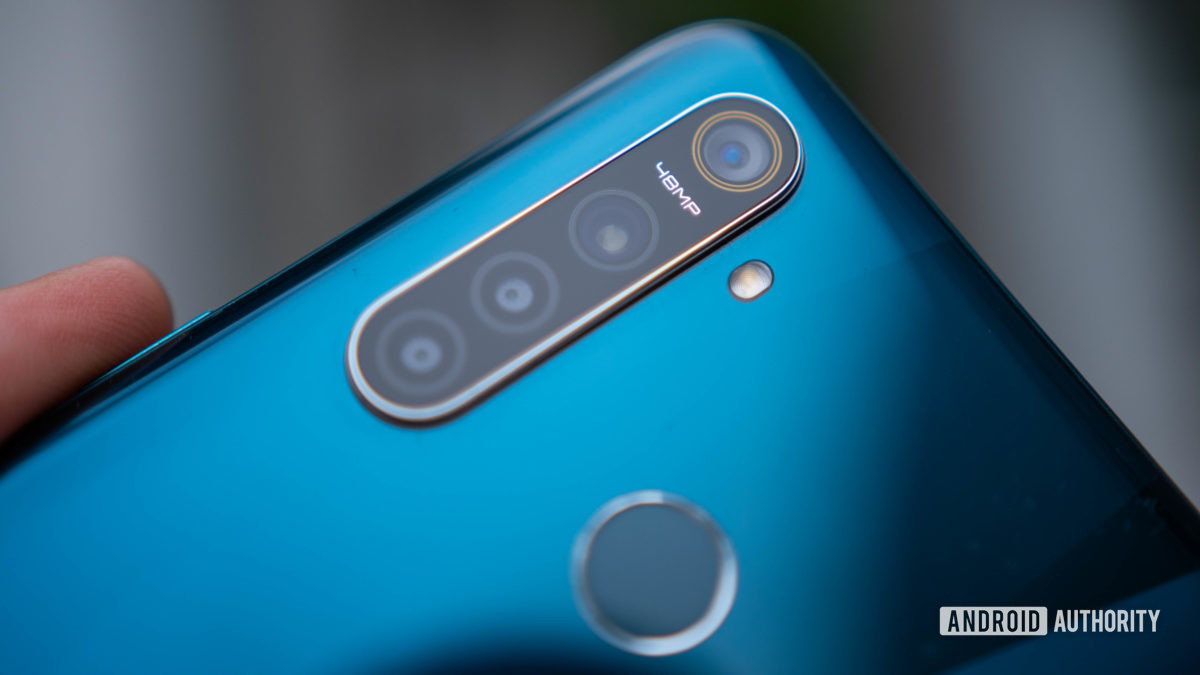 best phones under £200 - Realme 5 Pro rear