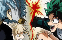 Cover art for My Hero Academia, one of the best anime on Hulu