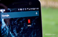 Netflix icon on the homescreen of the HTC 10.