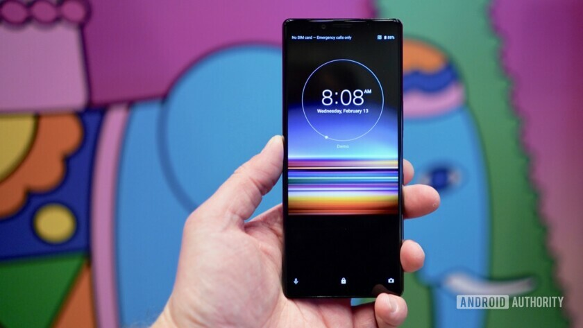 Sony Xperia 1 with an IP68 rating