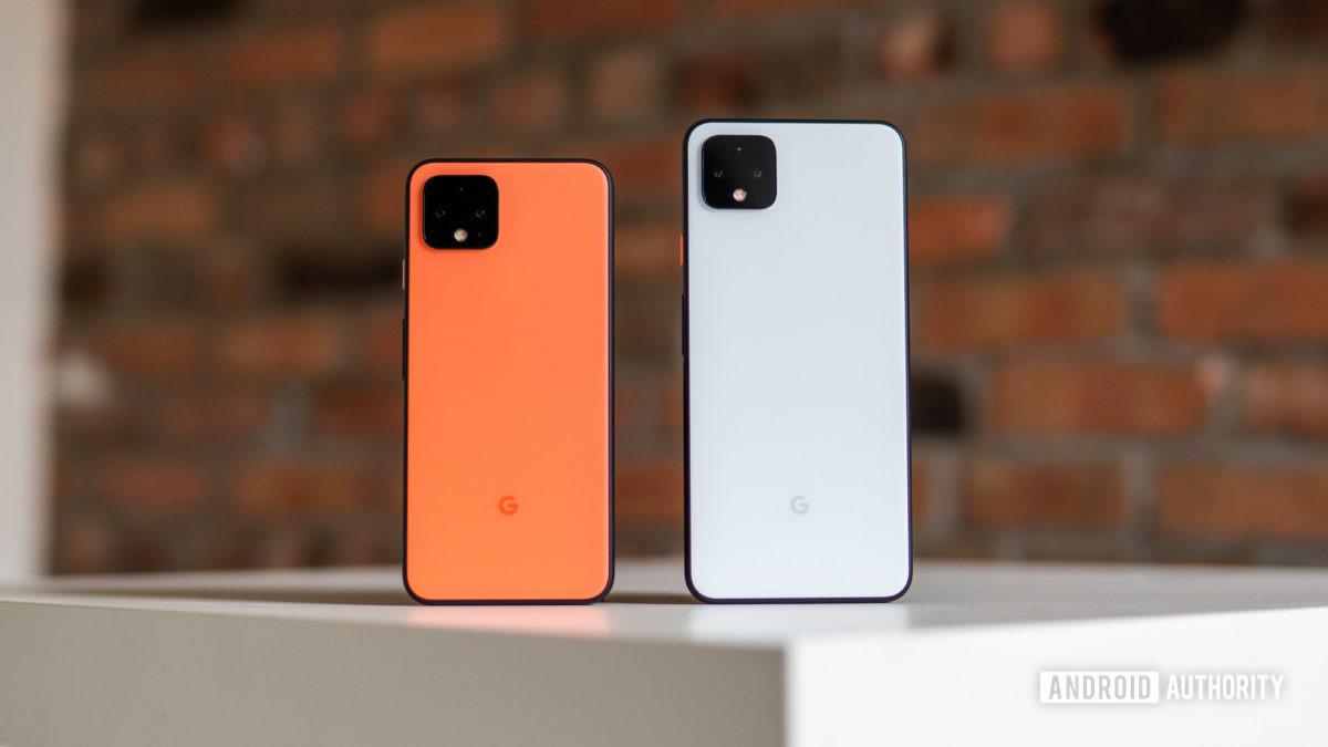 Google Pixel 4 and 4 XL waterproof phones
