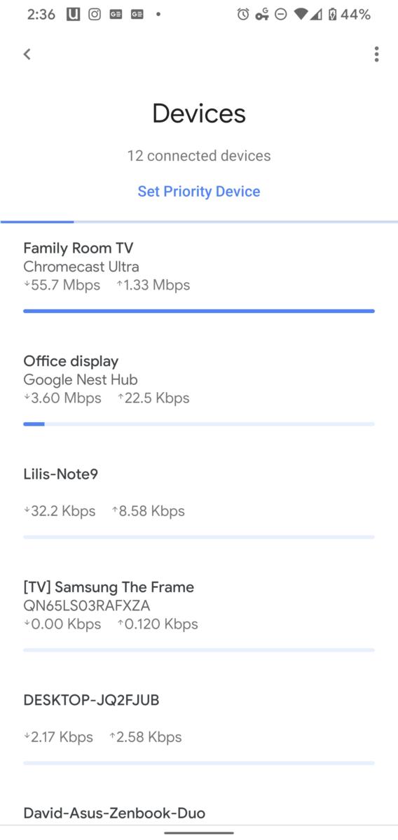 Google Stadia 4k60p Data usage 2