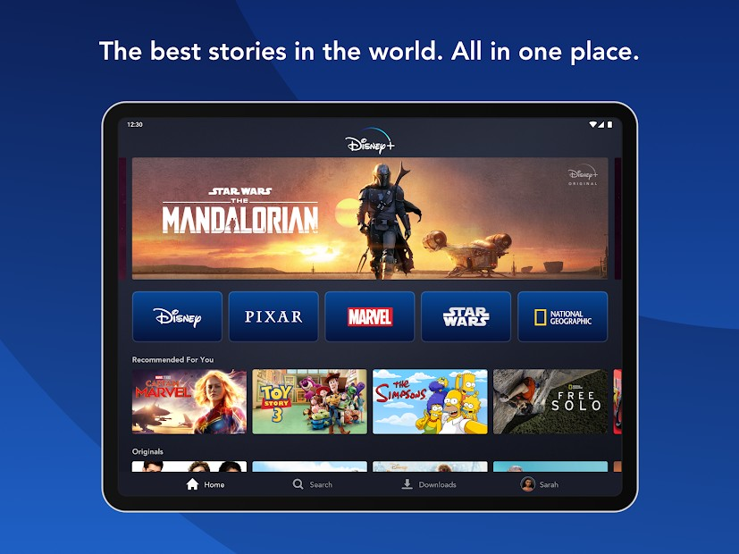 disney plus android app