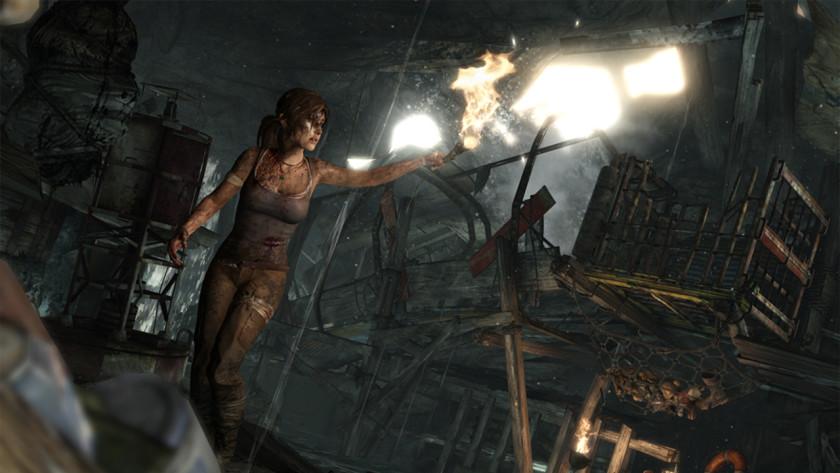 Tomb Raider reboot art