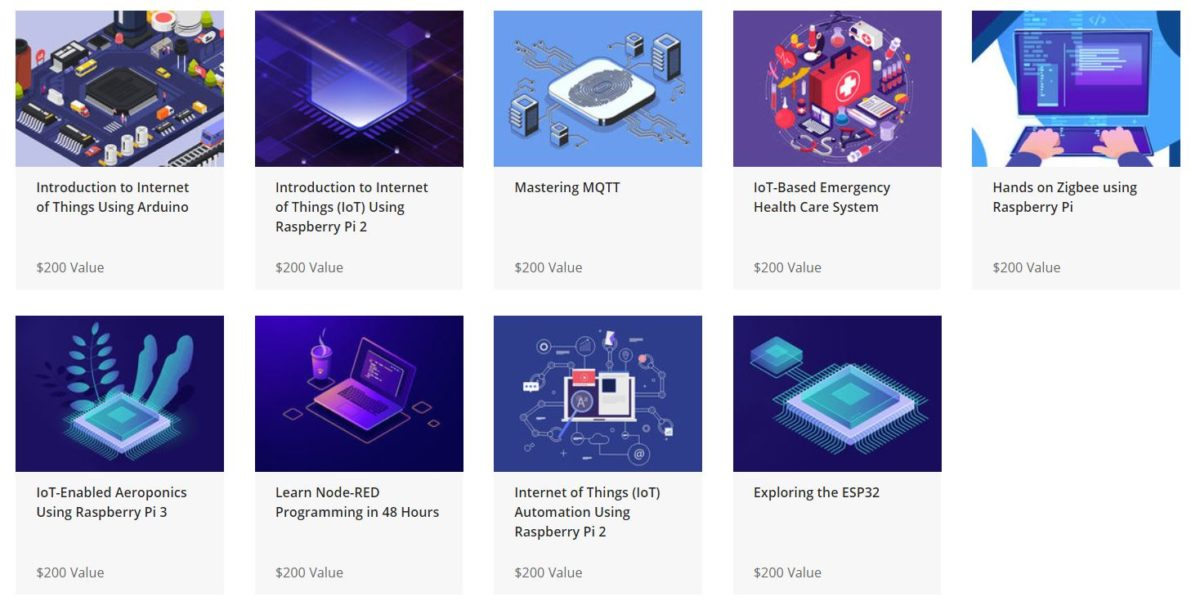 The Mastering Internet of Things Bundle