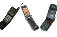 Motorolas iconic flip phones