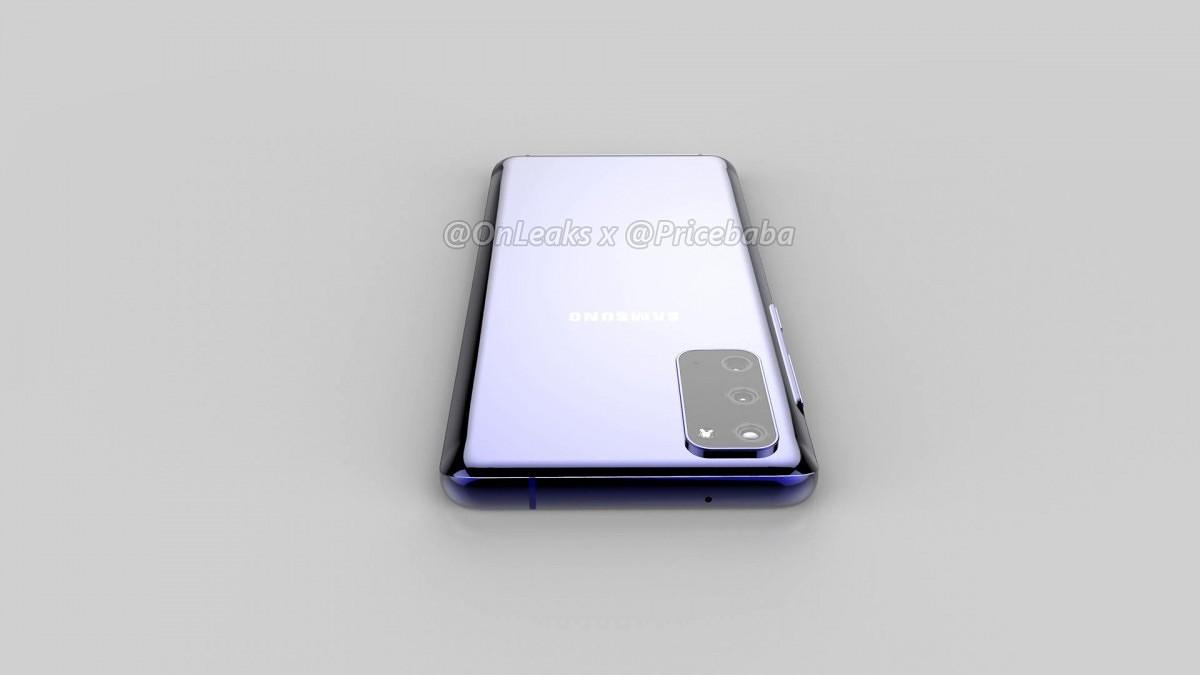 Samsung Galaxy S11e renders 2