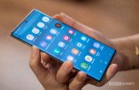 Samsung Note 10 screenshots volume and power