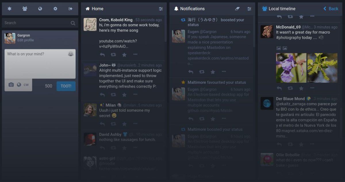 mastadon screenshot 1