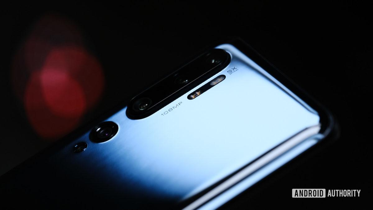 Xiaomi Mi Note 10 cameras hero shot