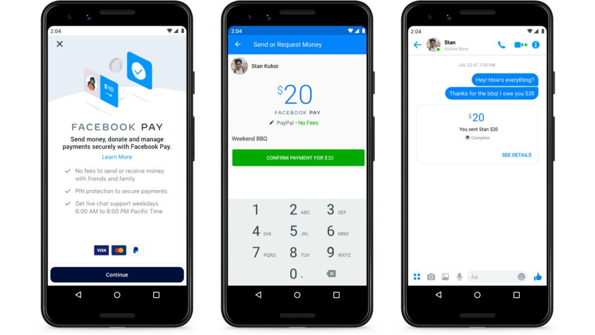 Facebook Payments On Facebook Messenger