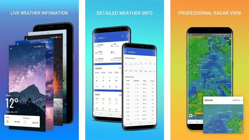 Apex Weather - best new android apps