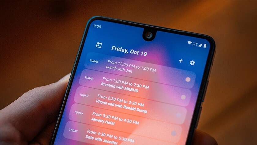 This is Calendar Widget, one of the best android widgets