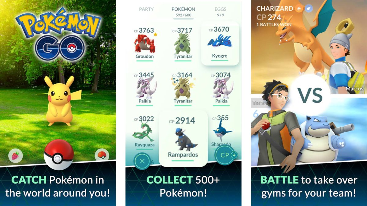 Pokemon Go screenshot 2019
