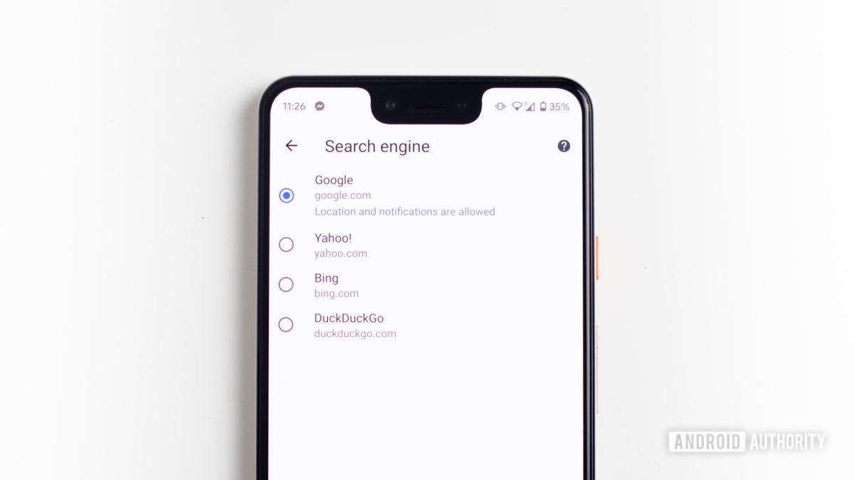 Chrome change default browser