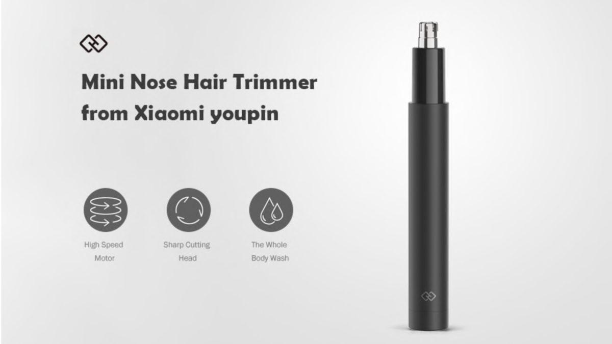 xiaomi nose hair trimmer