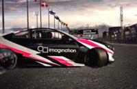Imagination A Series GPU Logo on car