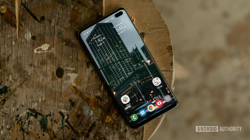 Samsung Galaxy S10 Plus Home Screen