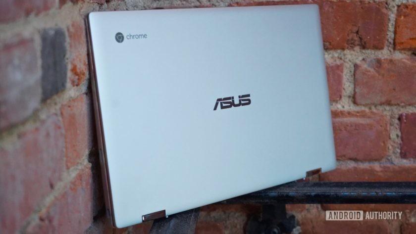 Asus Chromebook Flip C434 right profile