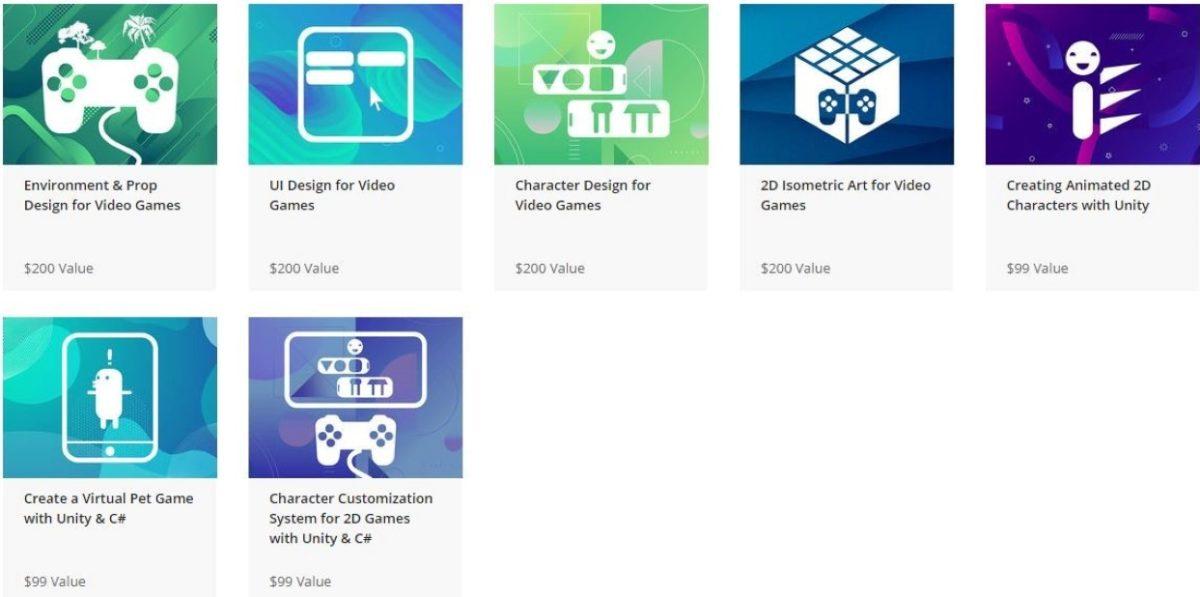 Learn Game Design Bundle courses