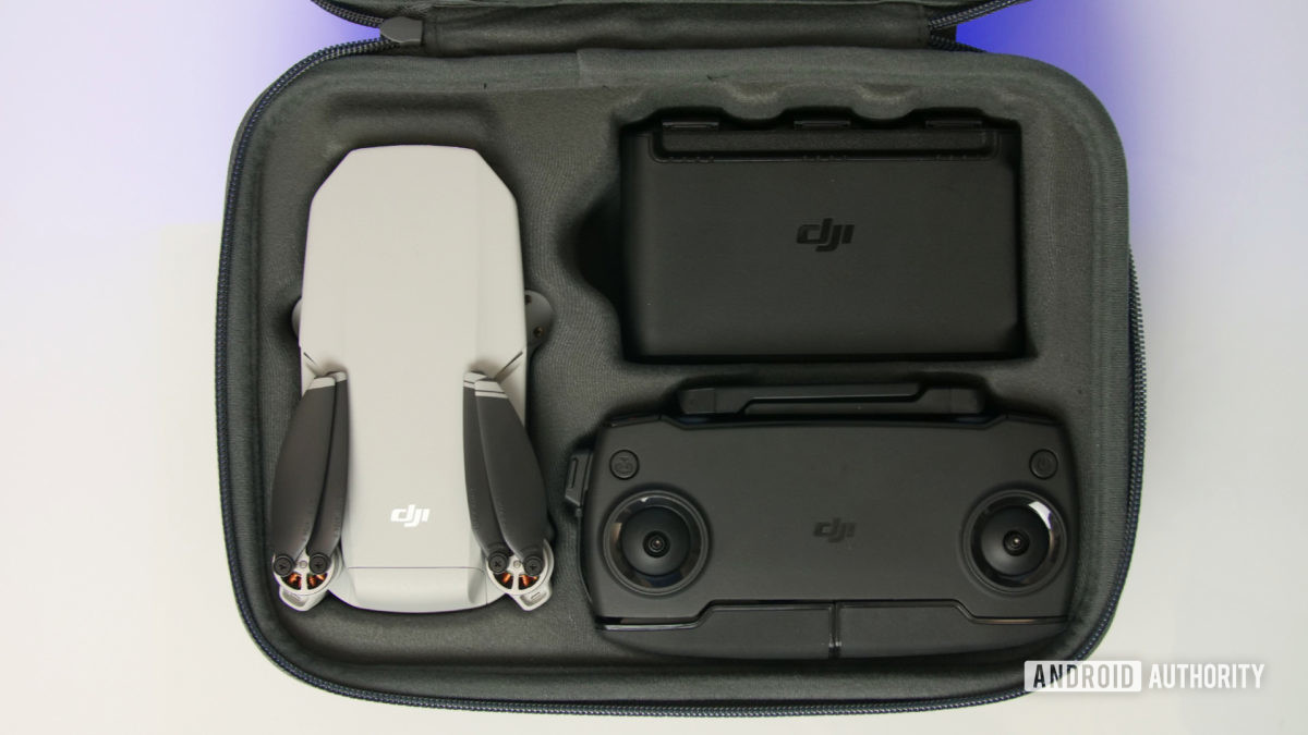 DJI Mavic Mini review fly more combo case aa