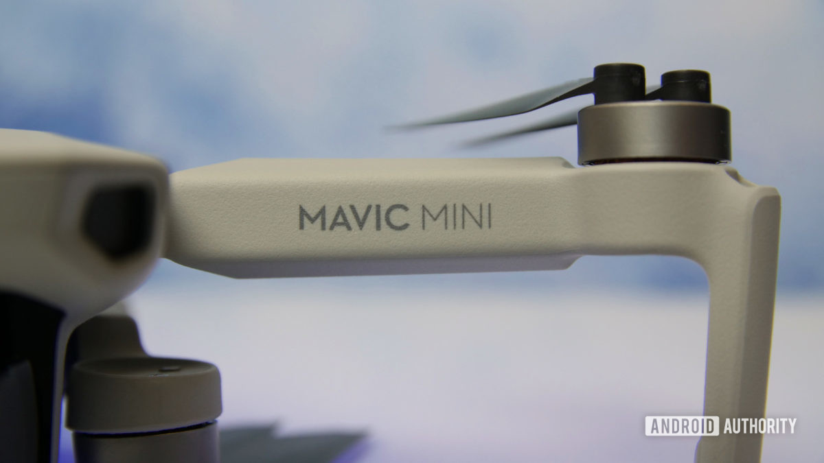 DJI Mavic Mini review propeller arm aa