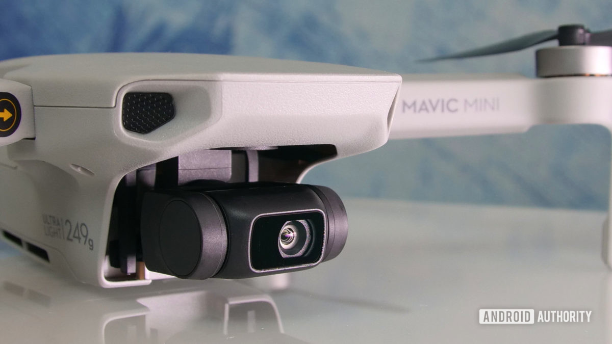 DJI Mavic Mini review camera light aa