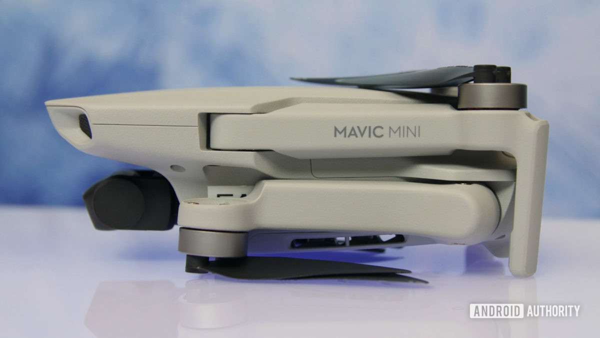 DJI Mavic Mini review folded side aa