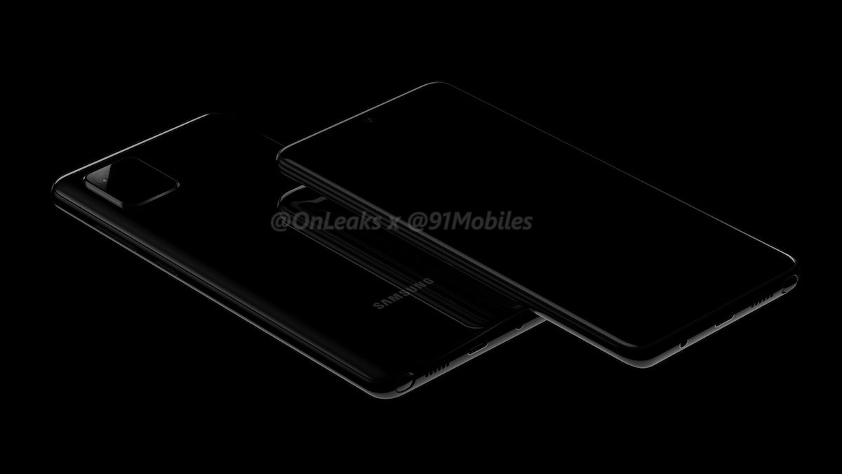 Samsung Galaxy Note 10 Lite leaked renders