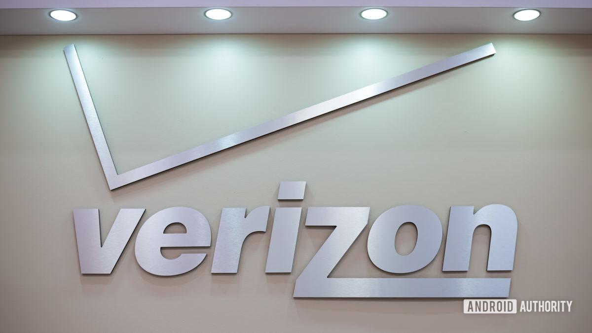 Verizon Wireless logo stock image 9