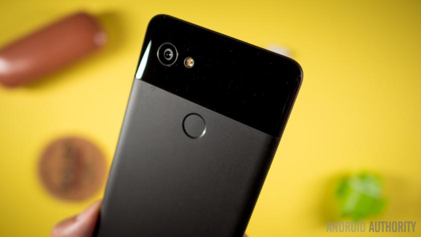 The Google Pixel 2 XL.