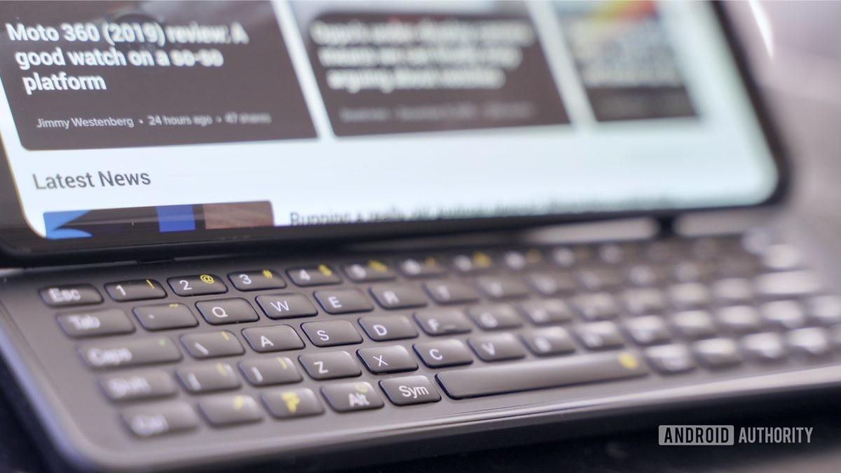 Fxtec Pro1 review keyboard closeup