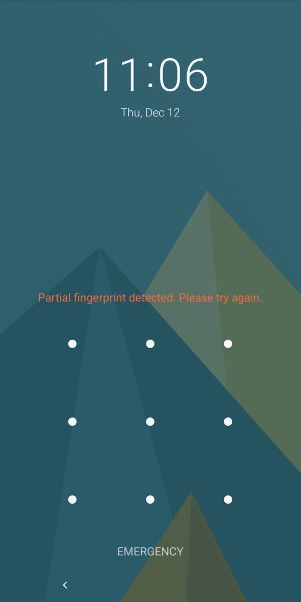 Fxtec Pro1 review lock screen