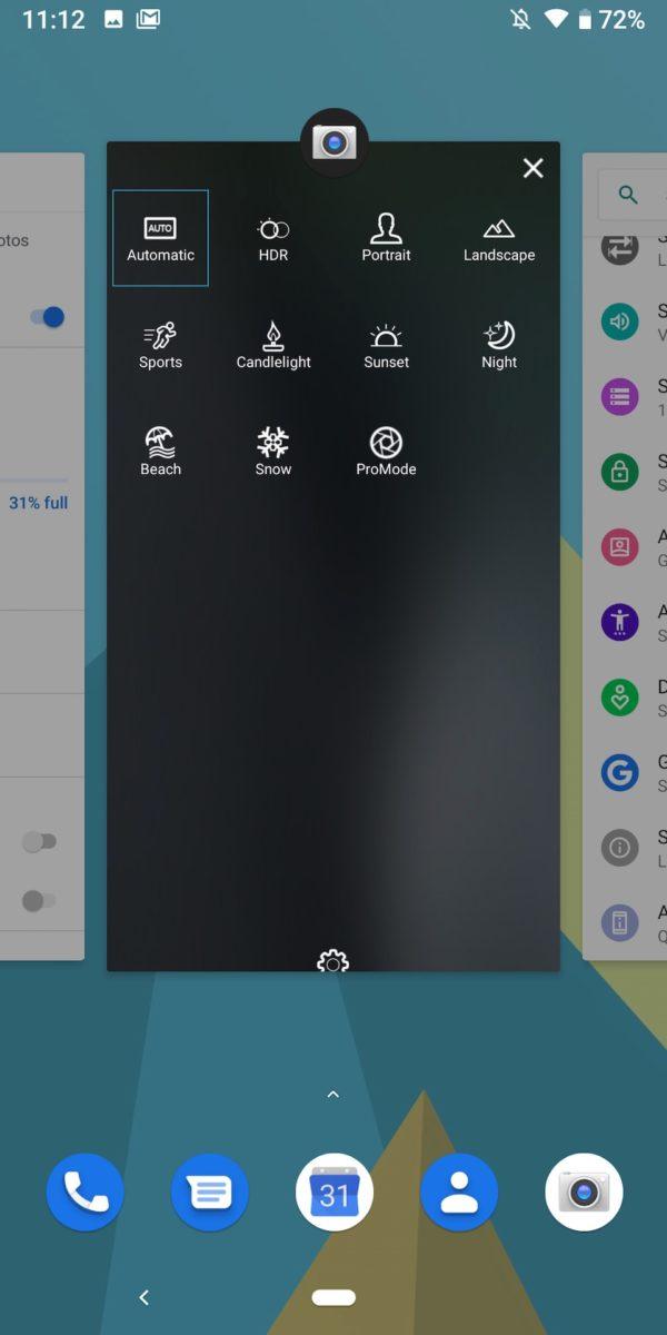 Fxtec Pro1 review multitasking screen