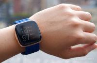 Fitbit Versa 2 on wrist