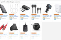 The Anker charging accessory deals on Amazon.