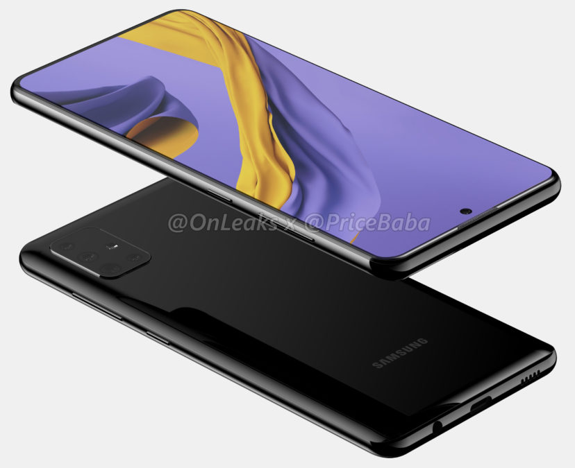 samsung galaxy a51 leaked renders 3