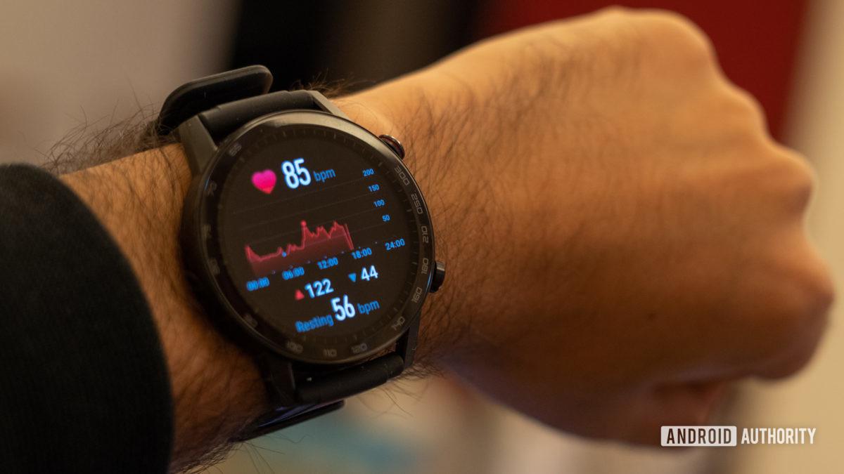 Honor Watch Magic 2 heart rate