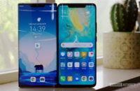 Huawei Mate 30 Pro vs Mate 20 Pro front 3