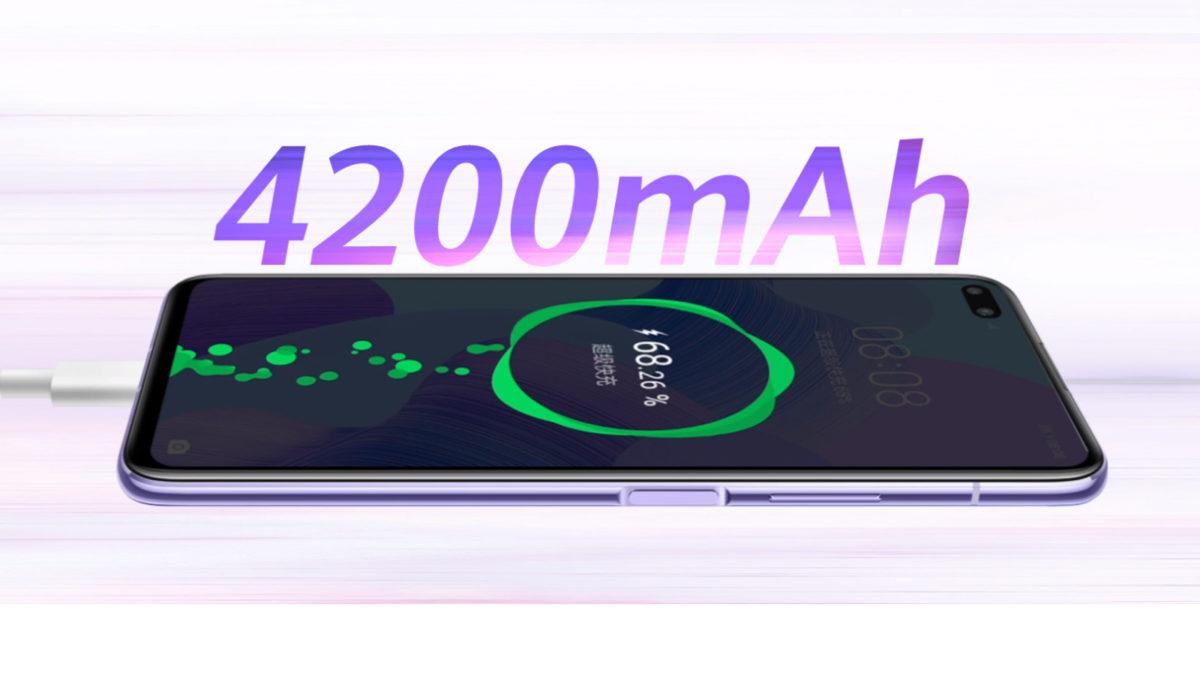 Huawei Nova 6 5G charging
