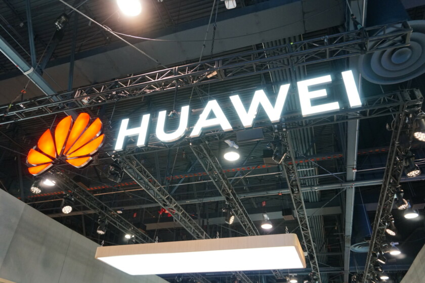 Huawei CES 2019 booth Logo