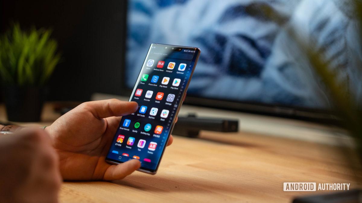 Huawei Mate 30 Pro App drawer