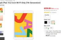 Apple iPad 10 inch Target Cyber Monday sale