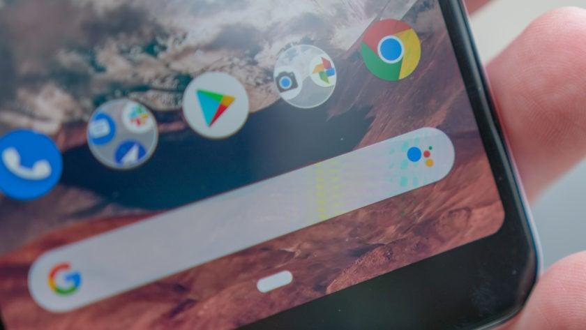 Google Pixel 3a Purple-ish Assistant Logo