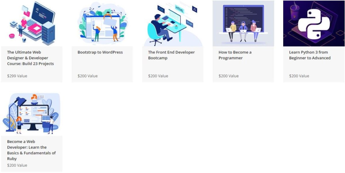 Ultimate 2020 Web Development Courses