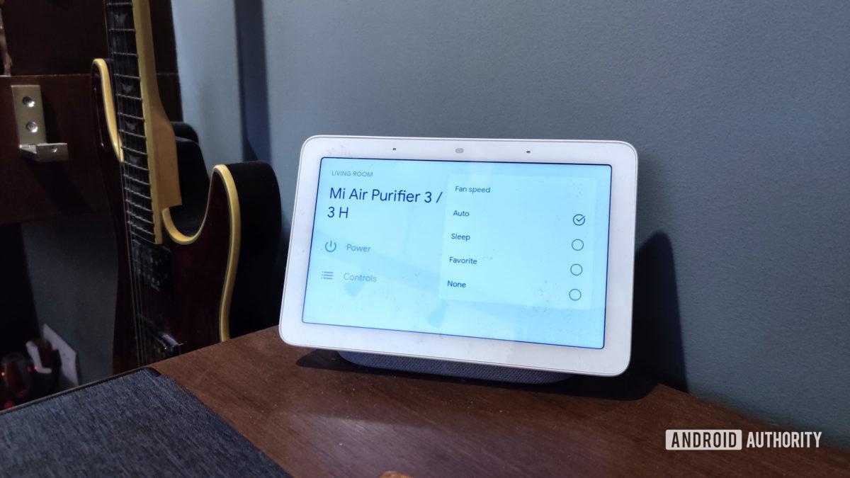 Mi Air Purifier 3 google home integration