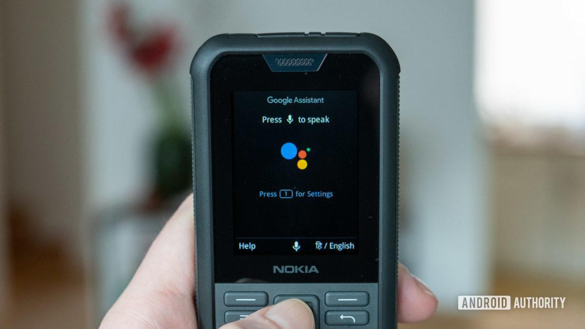 Nokia 800 Tough review Google Assistant