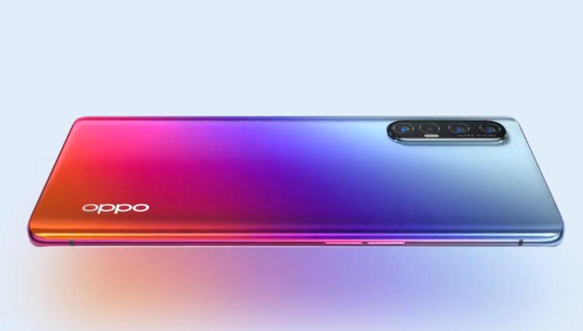 The Oppo Reno 3 Pro 5G.