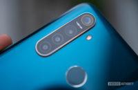 Realme 5 Pro camera module on the rear